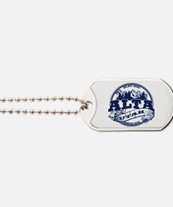 Alta Old Circle Blue Dog Tags
