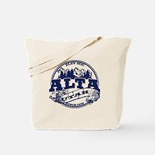 Alta Old Circle Blue Tote Bag