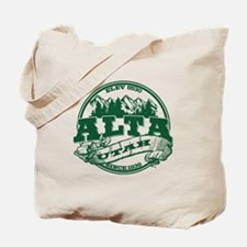 Alta Old Circle Green Tote Bag