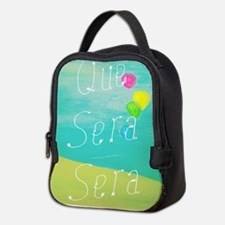 Que Sera Sera Neoprene Lunch Bag