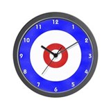 Curling Wall Clocks