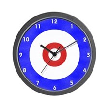 Curling Wall Clock Wall Clock