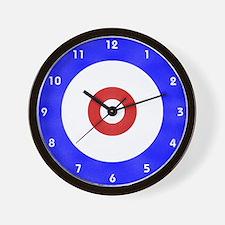 Curling Wall Clock Wall Clock