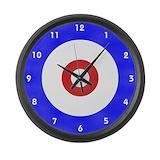 Curling Giant Clocks