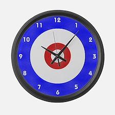 Curling Wall Clock Large Wall Clock