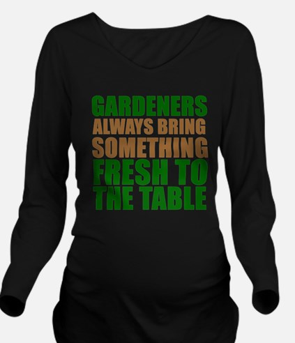 Gardeners Fresh To Table Long Sleeve Maternity T-S