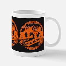 Alta Old Circle Orange Mug