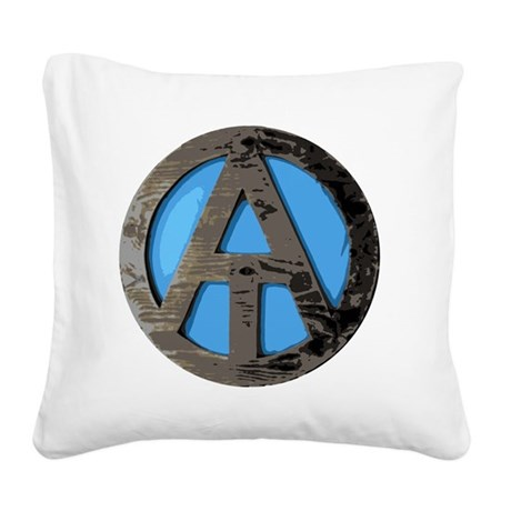 Appalachian Trail Square Canvas Pillow