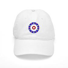 Curling Rocks Around the Clock Baseball Baseball Cap