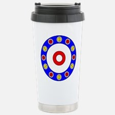 Curling Rocks Around the Clock Travel Mug