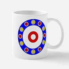 Curling Rocks Around the Clock Mugs