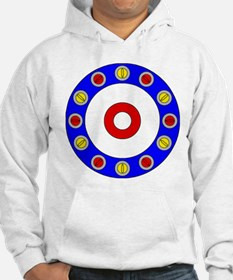 Curling Rocks Around the Clock Hoodie