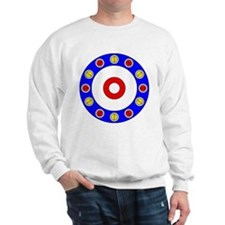 Curling Rocks Around the Clock Sweatshirt