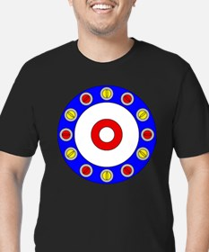 Curling Rocks Around the Clock T-Shirt