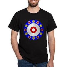 Curling Rocks Around the Clock T-Shirt