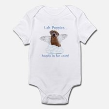Lab Puppy Angel Infant Bodysuit