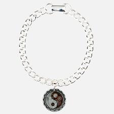 Steampunk Yin Yang Bracelet