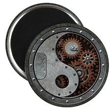 Steampunk Yin Yang Magnets