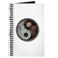 Steampunk Yin Yang Journal