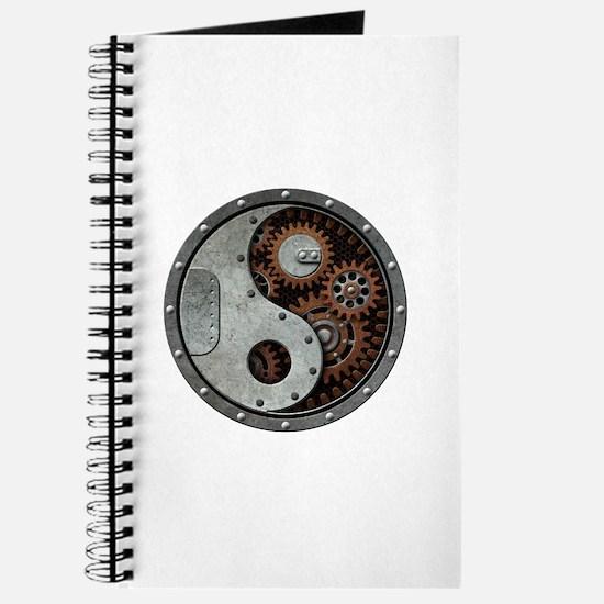 Steampunk Yin Yang Journal