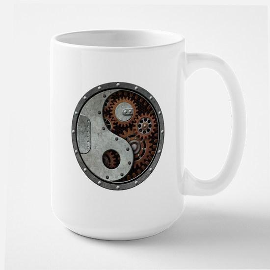 Steampunk Yin Yang Mugs