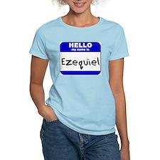 hello my name is ezequiel T-Shirt