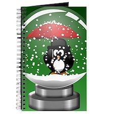 Snowglobe Penguin Journal