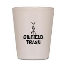 Oilfield Trash Shot Glass