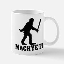 MACHYETI BLACK Mugs