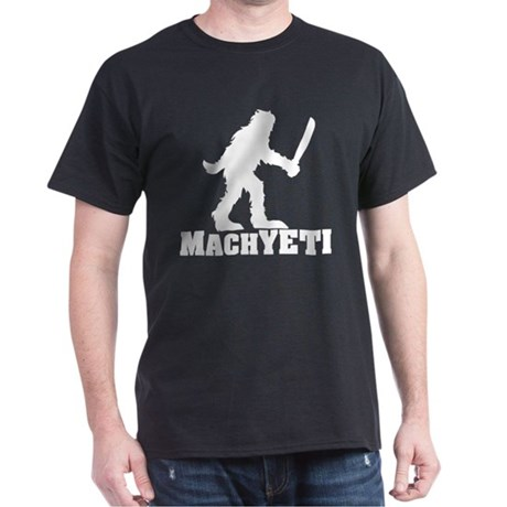 MACHYETI BLACK T-Shirt