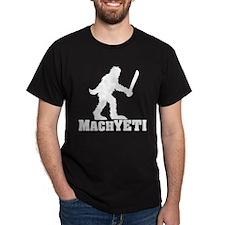 MACHYETI BLACK T-Shirt