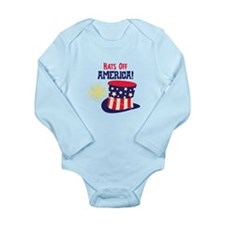 Hats Off AMERICA! Body Suit