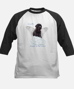 Mastiff(brindle) Angel Kids Baseball Jersey