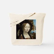 Leonardo da Vinci - Ginevra de Benci Tote Bag