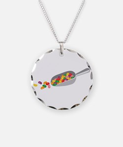 Jelly Bean Scoop Necklace