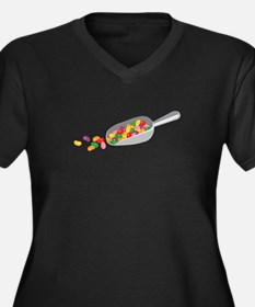 Jelly Bean Scoop Plus Size T-Shirt