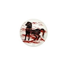 Egyptian Chariot Horses Mini Button (10 pack)