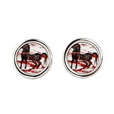 Egyptian Chariot Horses Cufflinks