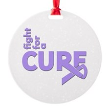 General Cancer Fight For A Cure Ornament