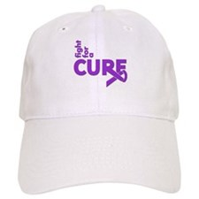 Epilepsy Fight For A Cure Baseball Cap
