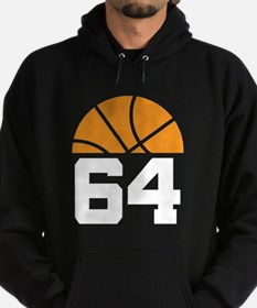 Basketball Number 64 Player Gift Hoodie