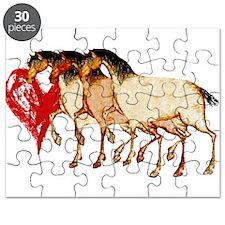 Love Horses Puzzle