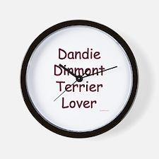 Dandie Lover Wall Clock