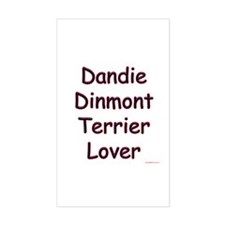 Dandie Lover Rectangle Decal