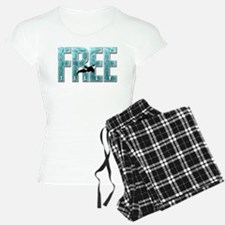 Free Tilly Sea Blue Pajamas