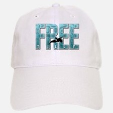 Free Tilly Sea Blue Baseball Baseball Baseball Cap