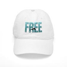 Free Tilly Sea Blue Baseball Baseball Cap