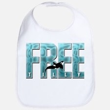 Free Tilly Sea Blue Bib