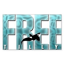 Free Tilly Sea Blue Decal
