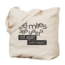 Funny 26.2 Marathon Tote Bag